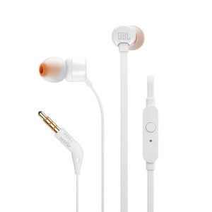 T110, InEar Universal Headphones 1-button Mic/Remote